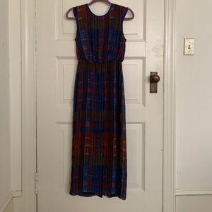 Anthropologie Fall midi dress